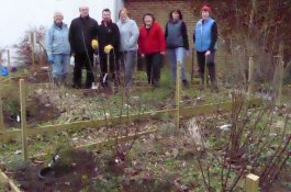 Vicarage plot working party