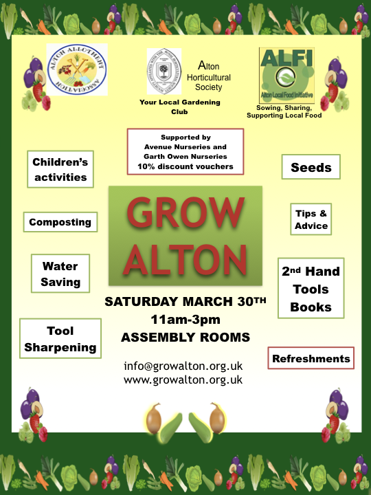 Grow Alton Event Poster
