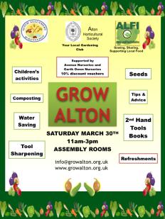 Grow Alton Event Poster